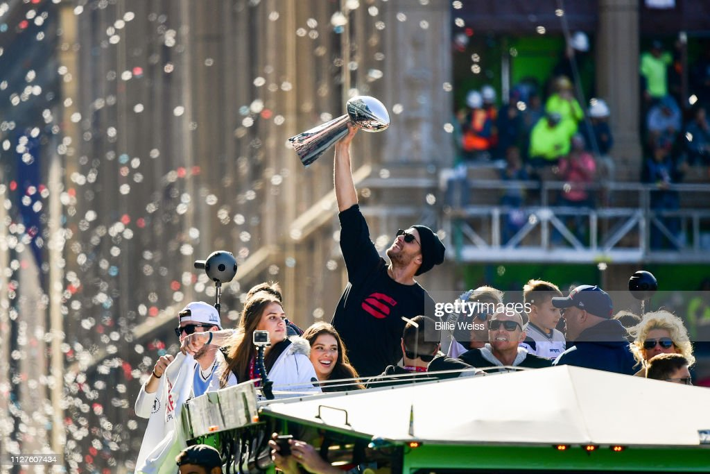 New England Patriots Victory Parade : News Photo
