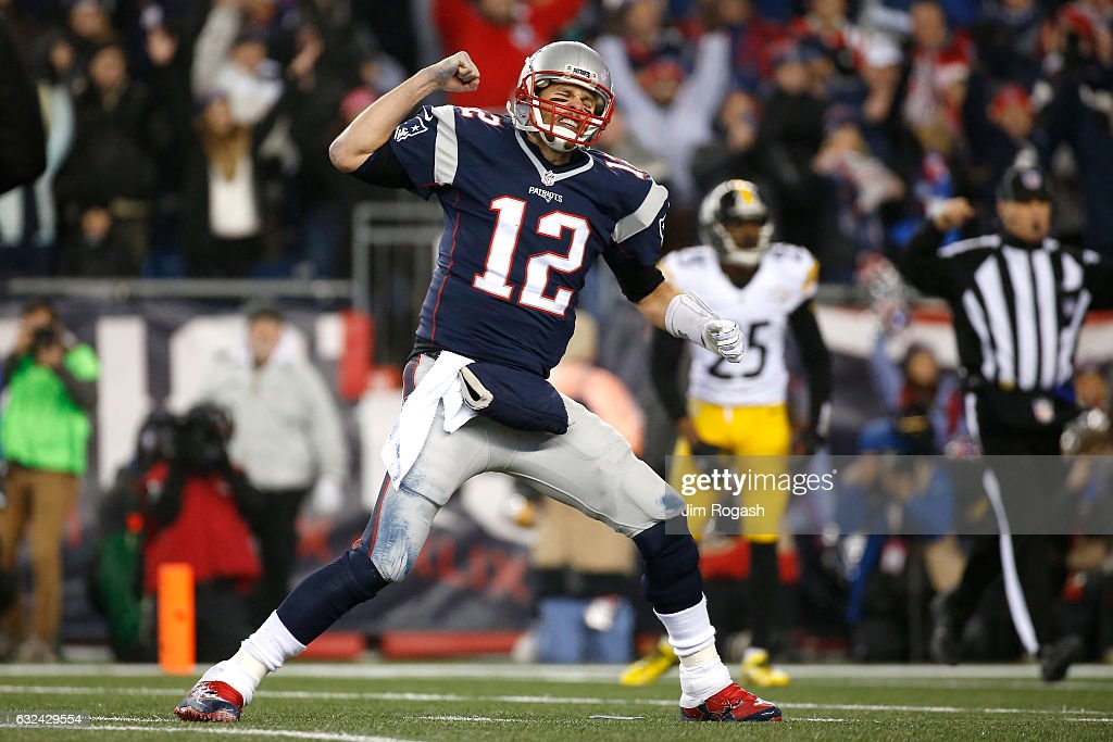 AFC Championship - Pittsburgh Steelers v New England Patriots : News Photo