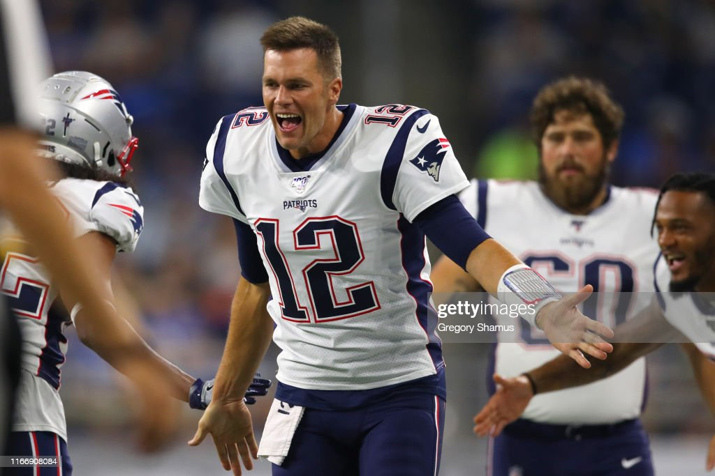 New England Patriots v Detroit Lions : News Photo
