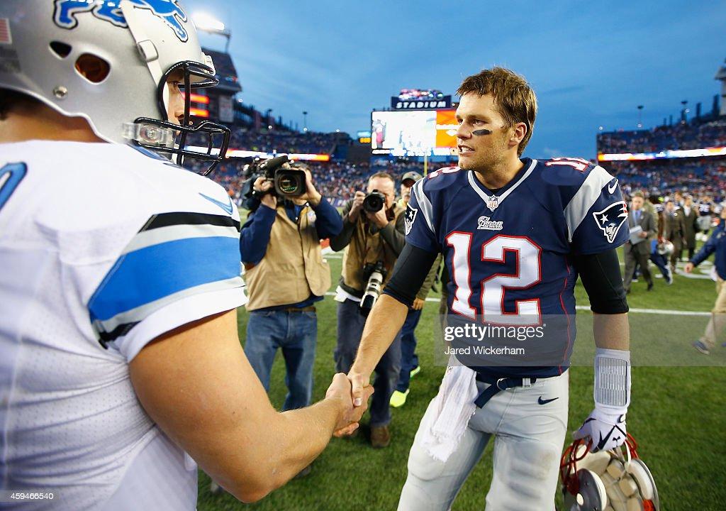Detroit Lions v New England Patriots : News Photo