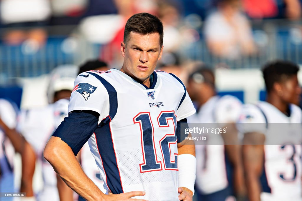 New England Patriots v Tennessee Titans : News Photo