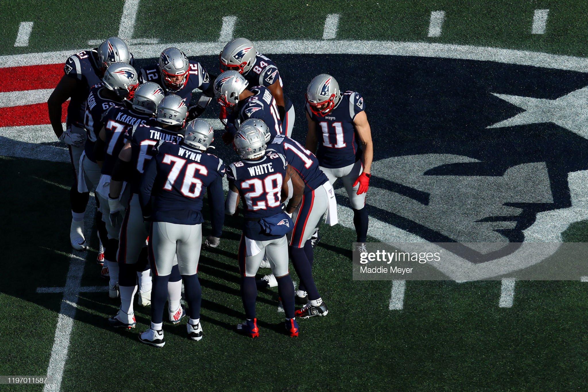 Miami Dolphins vNew England Patriots : Foto jornalística