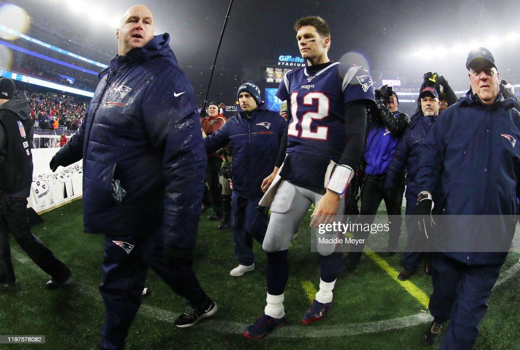 Wild Card Round - Tennessee Titans v New England Patriots : ニュース写真