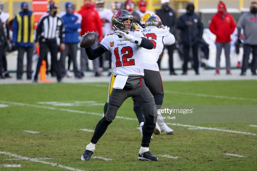 NFC Championship - Tampa Bay Buccaneers v Green Bay Packers : News Photo