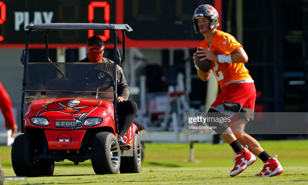 Tampa Bay Buccaneers Training Camp : News Photo