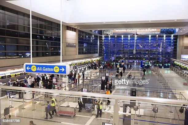 tom braldley international airport, international departure -lax - lax airport stock pictures, royalty-free photos & images