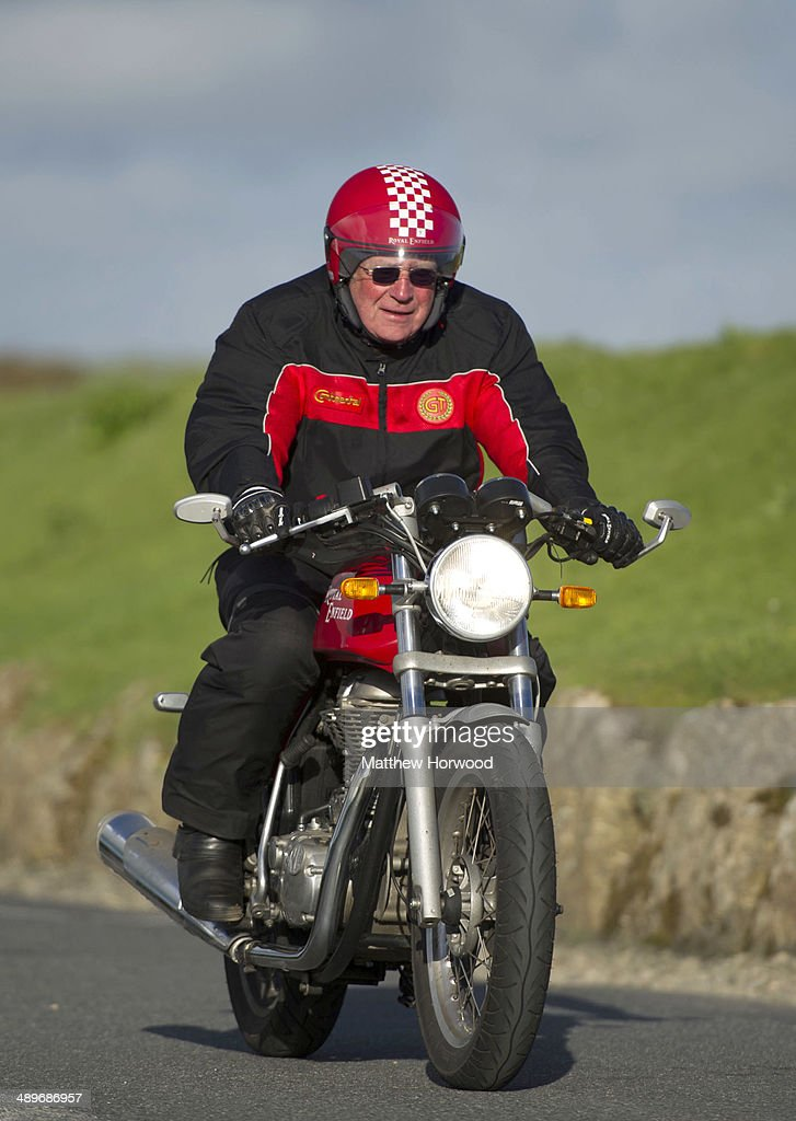 "Royal Enfield ""Top To Tip"" - Land's End : News Photo"