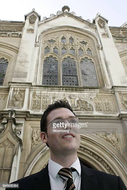 Tom Brennan leaves the Mayor's and City of London court in London UK Monday July 30 2007 Brennan has failed in his bid to force NatWest bank to...