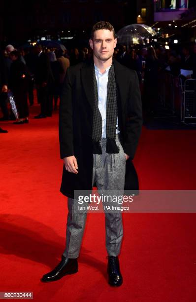 Tom Brittney attending the premiere of Film Stars Don't Die In Liverpool as part of the BFI London Film Festival, at the Odeon Leicester Square,...
