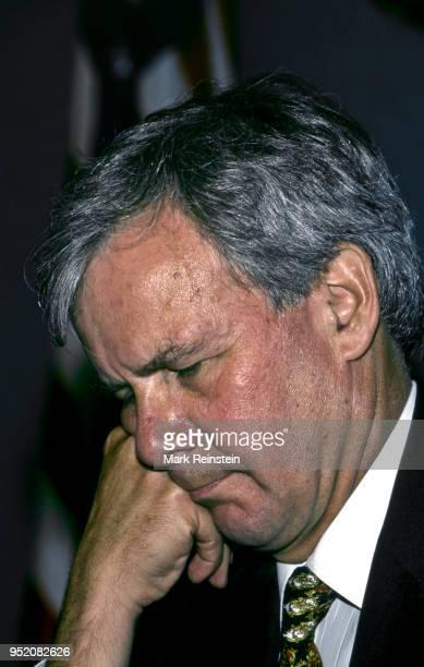 Tom Brokaw of NBC at the National Press Club, Washington, DC, June 11, 1996.
