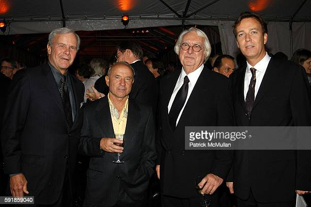 Tom Brokaw Yvon Chouinard Richard Meier and Paul Thompson attend National Design Awards Honoring the Best in American Design at The CooperHewitt on...