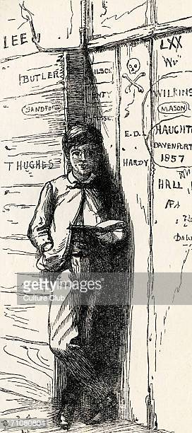 Tom Brown's School-Days, by Thomas Hughes Tom Brown's School-Days, by Thomas Hughes, First published in 1857. Caption reads: 'Tom Brown.'...
