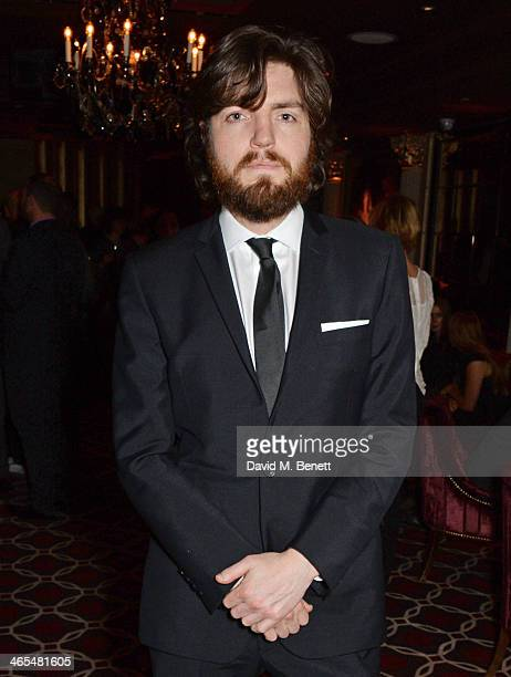 Tom Burke attends an after party celebrating the UK Premiere of 'The Invisible Woman' at No 41 Mayfair on January 27 2014 in London England