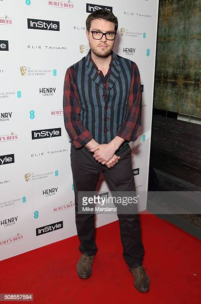 Tom Burke attends the InStyle EE Rising Star PreBAFTA Party at 100 Wardour Street on February 4 2016 in London England