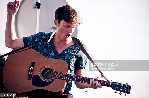 Tom Burke of Citizens performs during the Festival Auf Den Daechern on September 9 2012 in Berlin Germany
