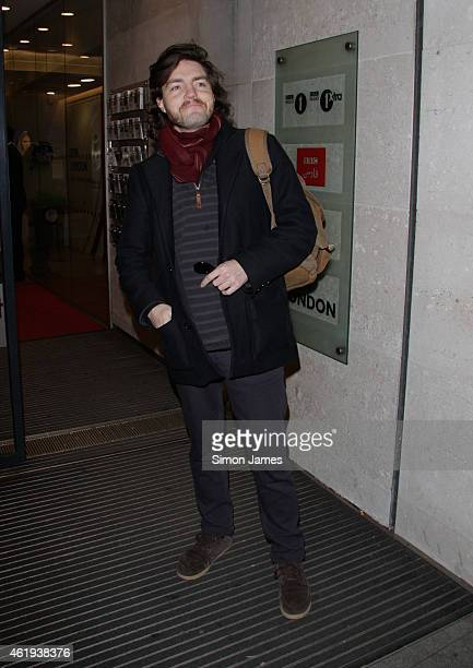 Tom Burke sighting at the BBC on January 22 2015 in London England