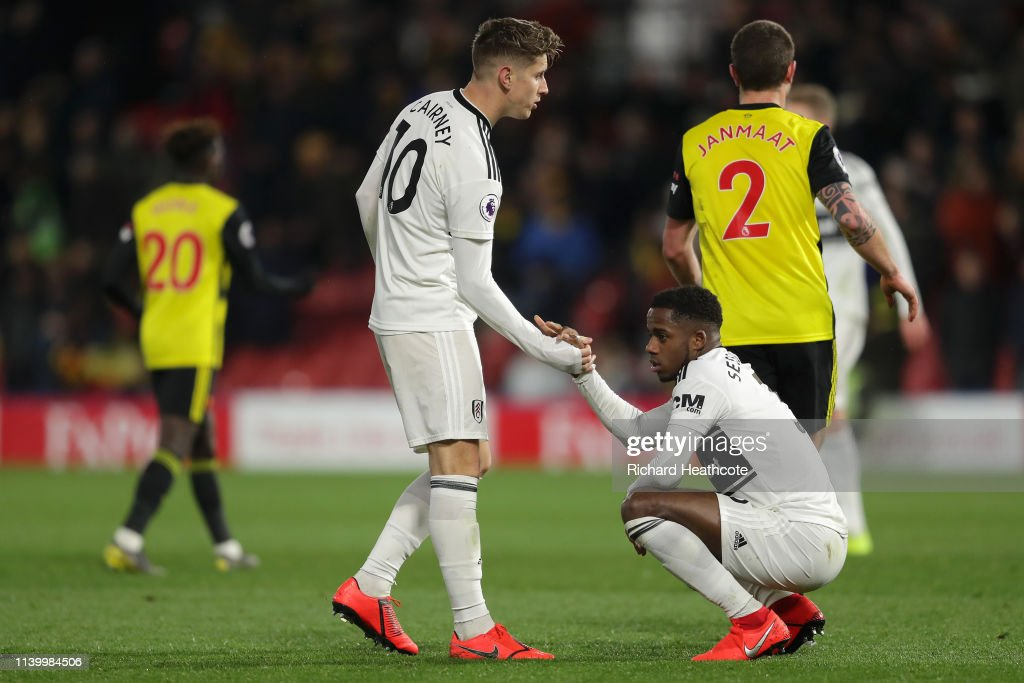 GBR: Watford FC v Fulham FC - Premier League