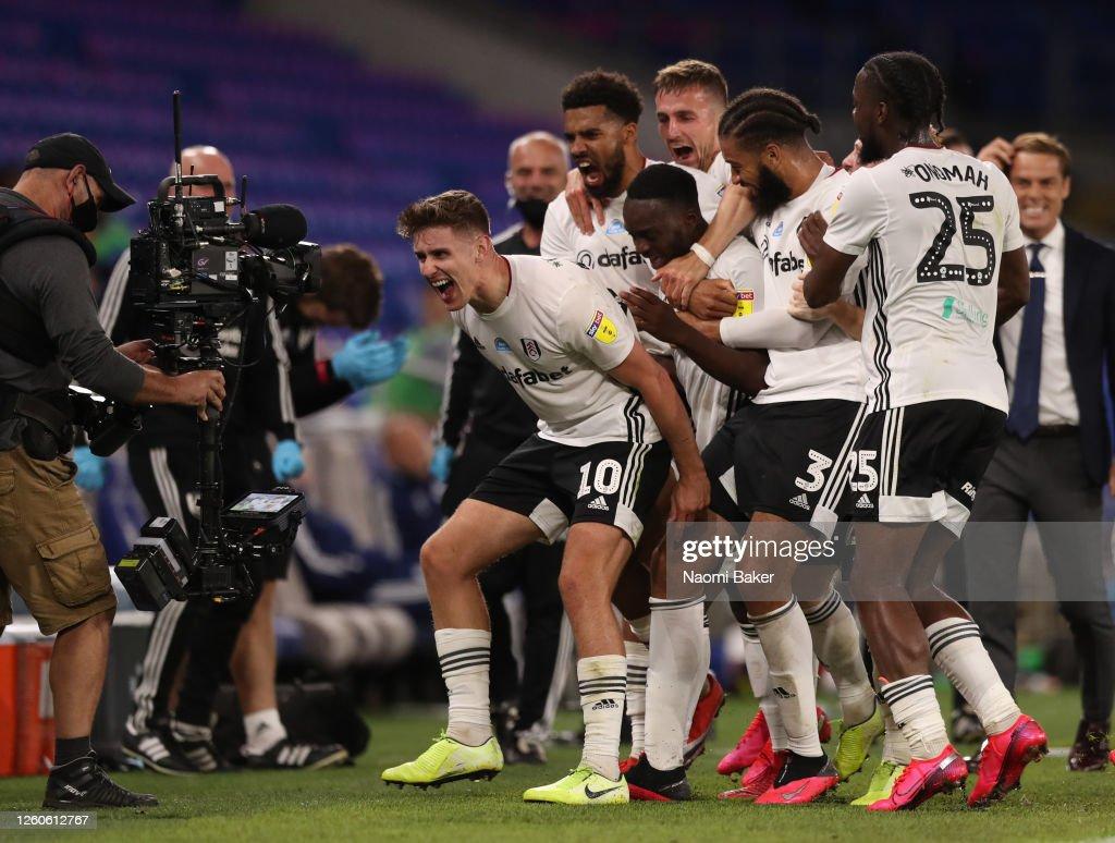 Cardiff City v Fulham - Sky Bet Championship Play Off Semi-final 1st Leg : News Photo