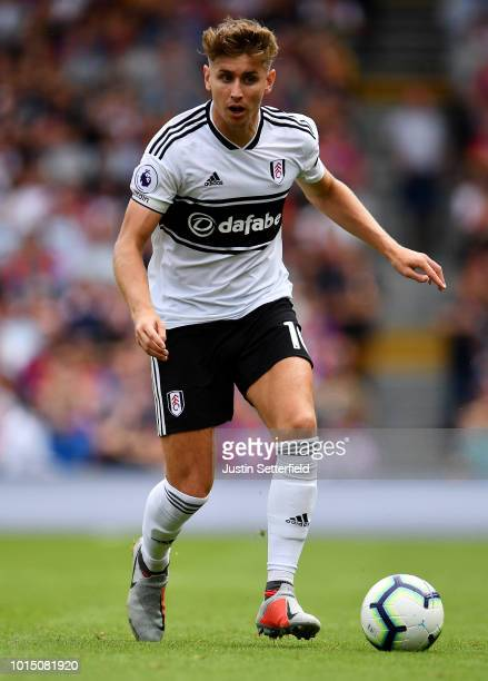 Tom Cairney of Fulham during the Premier League match between Fulham FC and Crystal Palace at Craven Cottage on August 11 2018 in London United...
