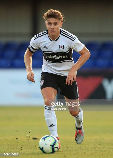 Tom Cairney of Fulham during the PreSeason Friendly between Fulham v Sampdoria at the EBB Stadium on August 1 2018 in Aldershot England