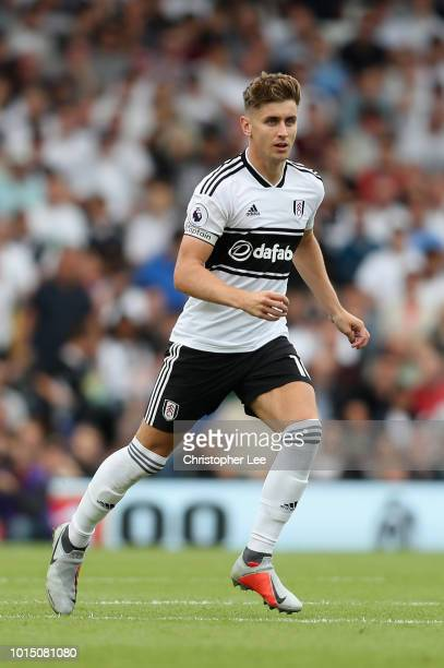 Tom Cairney of Fulham in action during the Premier League match between Fulham FC and Crystal Palace at Craven Cottage on August 11 2018 in London...
