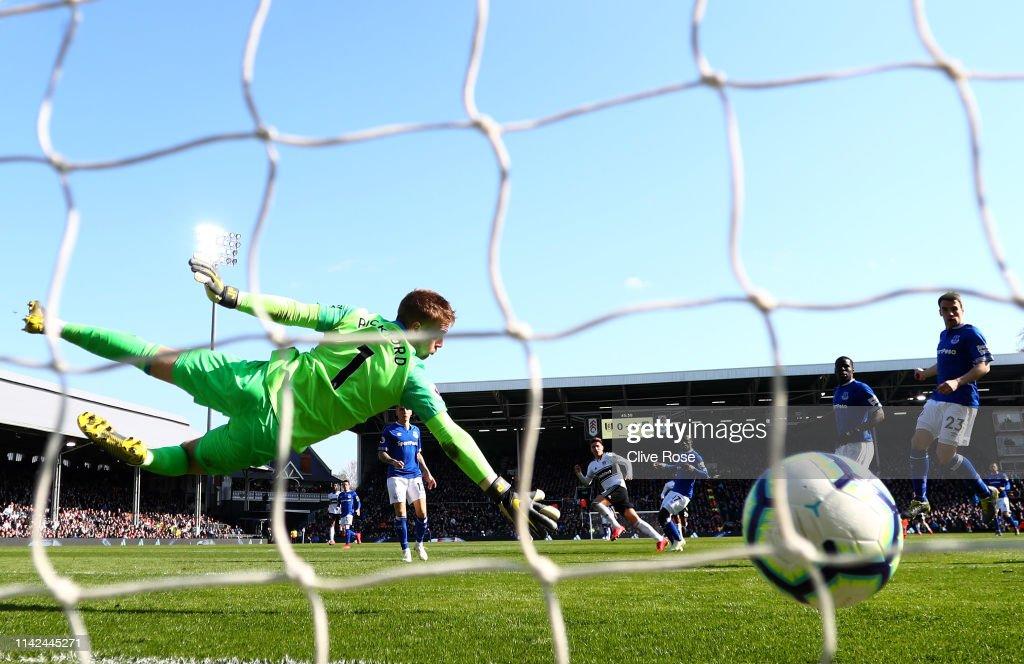 Fulham FC v Everton FC - Premier League : ニュース写真