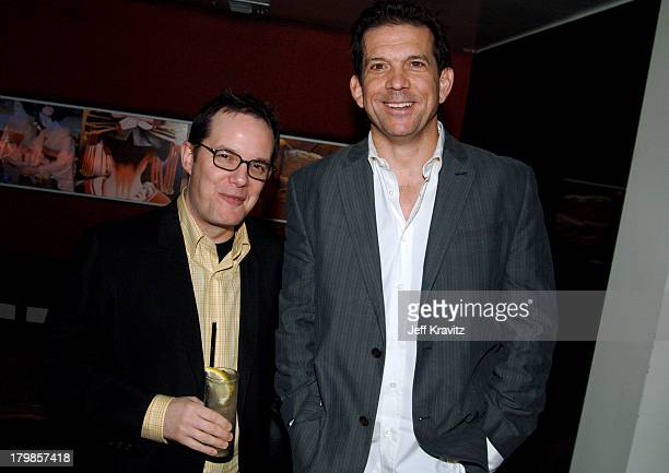 Tom Calderone and Mark Didia *Exclusive Coverage* during LIFEbeat Fall Fundraiser Honoring Brian Graden at Geisha House in Hollywood California...
