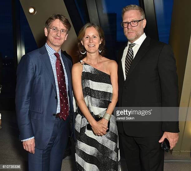 Tom Campbell Jennifer Bernstein and David Tepper attend Abstracted Black Tie Dinner Hosted by Pamela Joyner Fred Giuffrida and the Ogden Museum of...