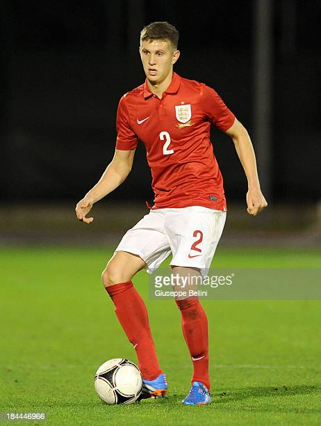 Tom Carroll of England in action during the 2015 UEFA European U21 Championships Qualifying Group One match between San Marino U21 and England U21 on...