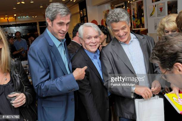 Tom Cashin John Reinhold and Jay Johnson attend Book Signing of Andy Warhol Making Money with BERKELEY REINHOLD VINCENT FREMONT at Gagosian Shop on...