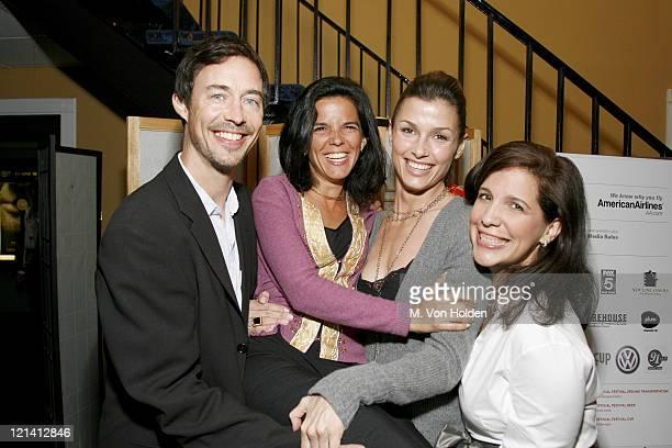 Tom Cavanagh Jill Footlick producer Bridget Moynahan and Sue Kramer director