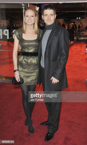 Tom Chambers and ghis wife Clare attend the Cinema & Television Benevolent Fund Royal Film Performance 2009: The Lovely Bones at Odeon Leicester...