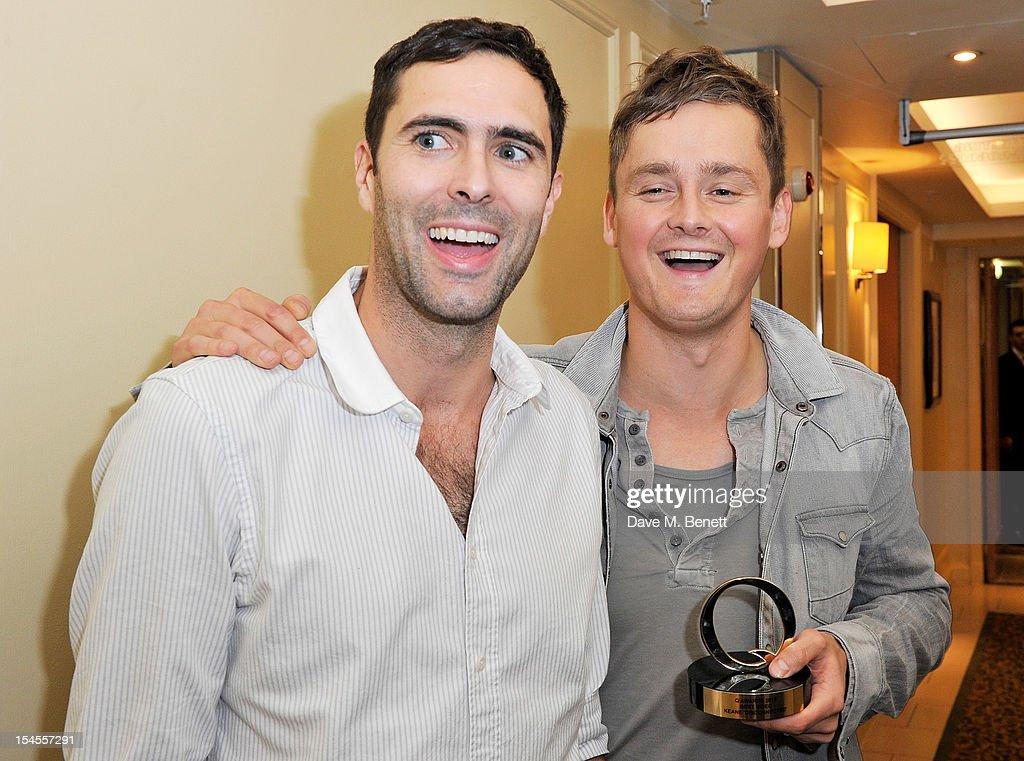The Q Awards 2012 - Press Room