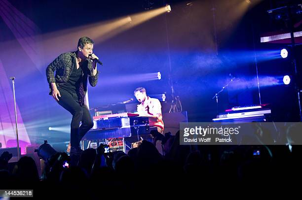 Tom Chaplin from Keane performs at Le Casino de Paris on May 15, 2012 in Paris, France.