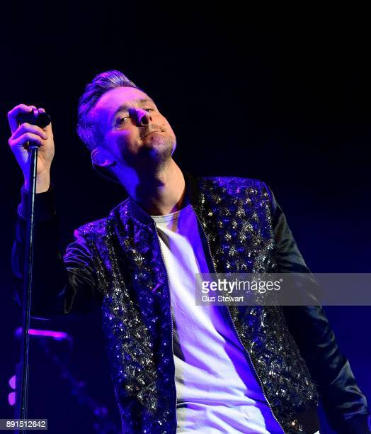 Tom Chaplin performs on stage at The Royal Festival Hall on December 12 2017 in London England
