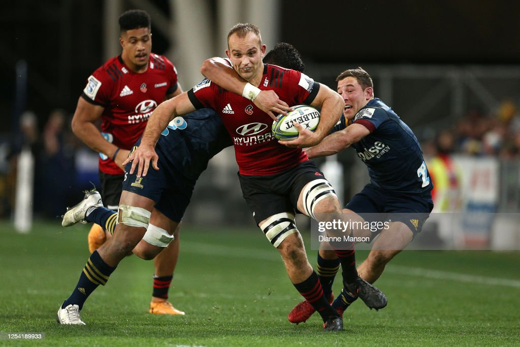 Super Rugby Aotearoa Rd 4 - Highlanders v Crusaders : News Photo