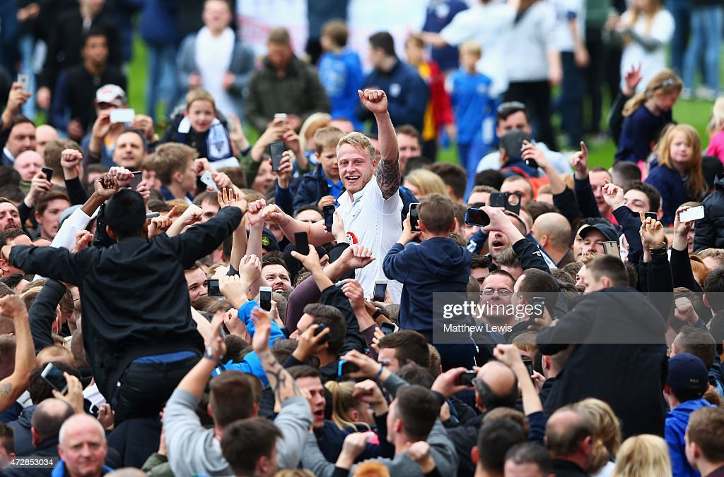 Preston North End v Chesterfield - Sky Bet League 1 Playoff Semi-Final : News Photo