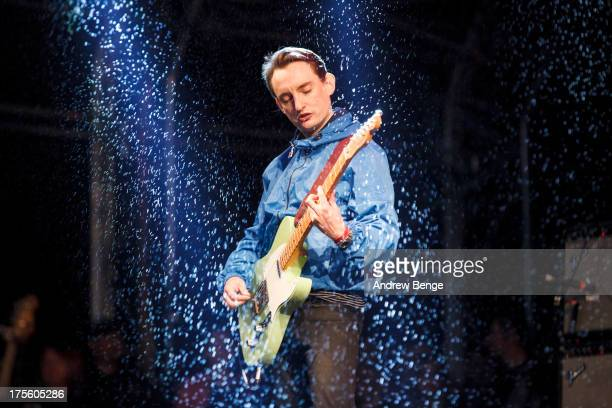 Tom Clarke of The Enemy performs on stage on Day 3 of Y Not Festival on August 4 2013 in Matlock England