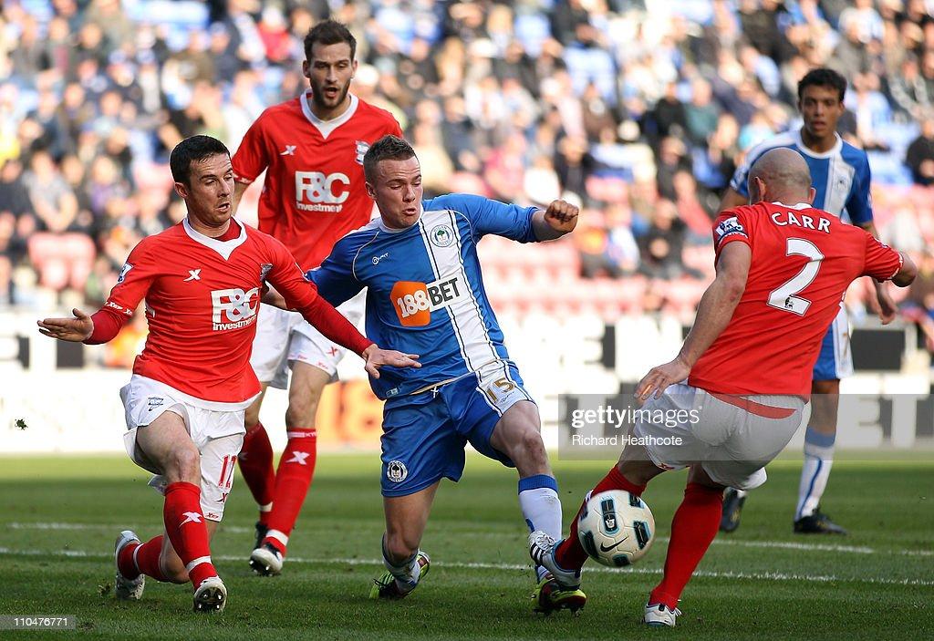 Wigan Athletic v Birmingham City - Premier League : News Photo