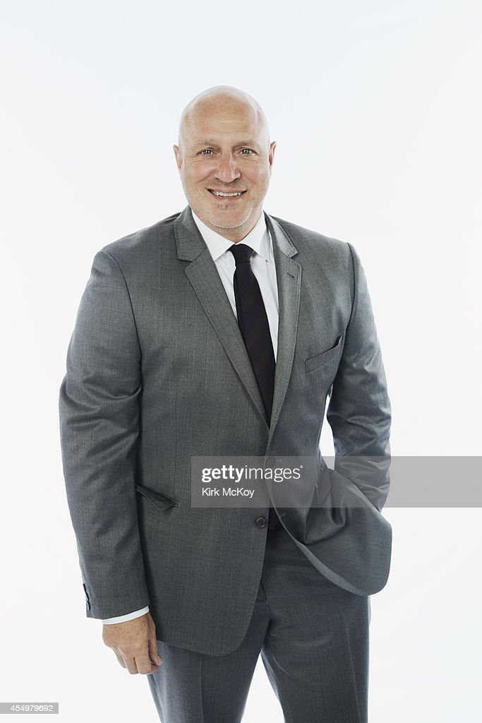 Tom Colicchio is photographed for Los Angeles Times on August 25, 2014 in Los Angeles, California. PUBLISHED IMAGE.