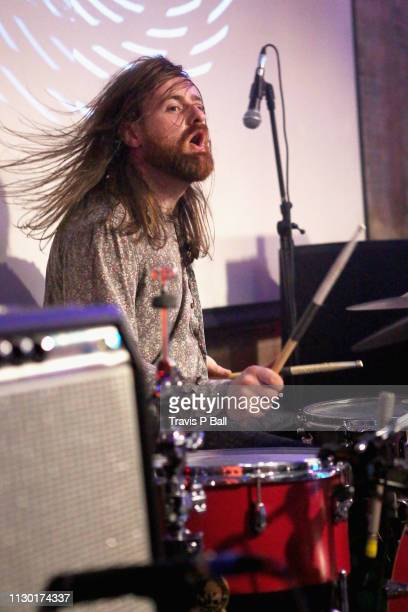 Tom Coll of Fontaines D.C. Performs onstage at ATC during the 2019 SXSW Conference and Festivals at Latitude 30 on March 12, 2019 in Austin, Texas.