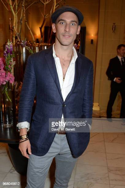 Tom Colley attends an after party following the UK Premiere of 'The Happy Prince' hosted by Justine Picardie editor of Harper's Bazaar at Cafe Royal...