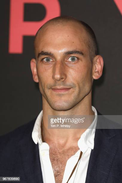 Tom Colley attends the UK premiere of 'The Happy Prince' at Vue West End on June 5 2018 in London England