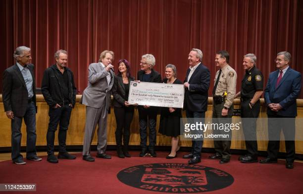 Tom Consolo John Ondrasik of Five For Fighting Eddie Money Lisa and Kevin Cronin of REO Speedwagon Thousand Oaks Mayor Rob McCoy Vanessa Bechtel...