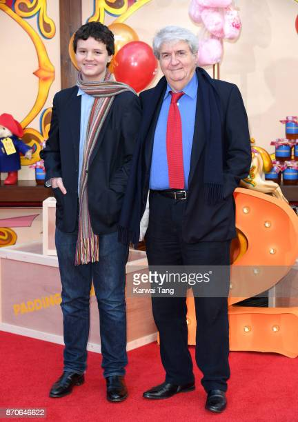 Tom Conti and grandson attend the 'Paddington 2' premiere at BFI Southbank on November 5 2017 in London England