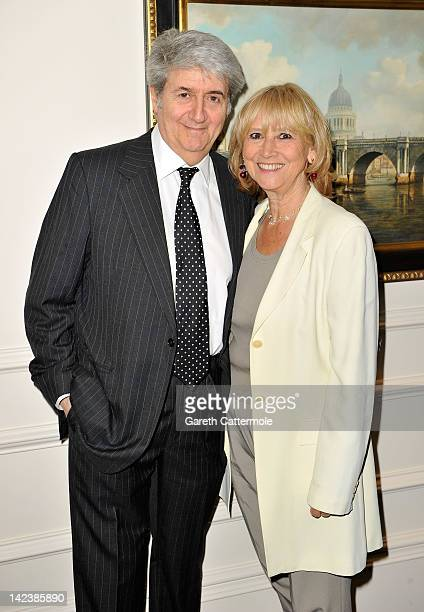 Tom Conti attends an after party celebrating the press night performance of 'Noises Off' as it transfers to the Novello Theatre at The Savoy Hotel on...