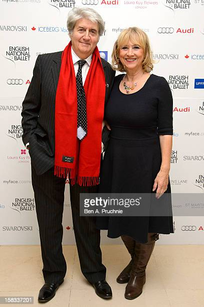Tom Conti attends the English National Balletss Christmas Party at St Martins Lane Hotel on December 13 2012 in London England