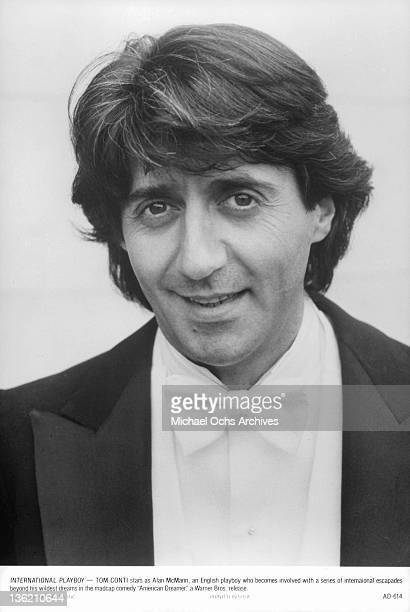 Tom Conti plays an international playboy in a scene from the film 'American Dreamer' 1984