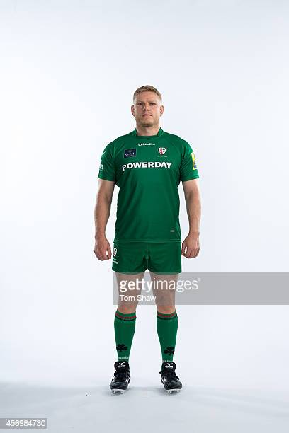 Tom Court of London Irish poses for a picture during the BT PhotoShoot at Sunbury Training Ground on August 27 2014 in Sunbury England