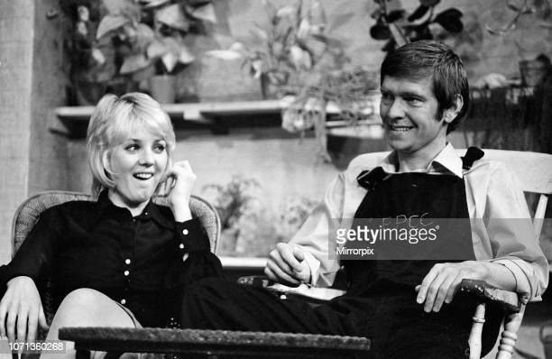 Tom Courtenay and Cheryl Kennedy in 'Time and Time Again' which opens at the Comedy Theatre on 16th August 14th August 1972